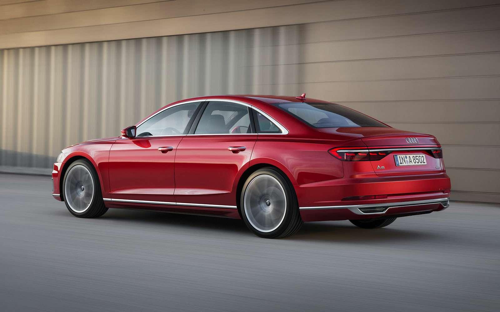 Audi A8четвертого поколения— новичок в«большой тройке»— фото 774426