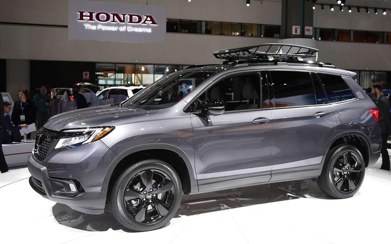 Honda Passport SUV 2019 на автосалоне в Лос-Анджелесе: привет из прошлого — фото 929299