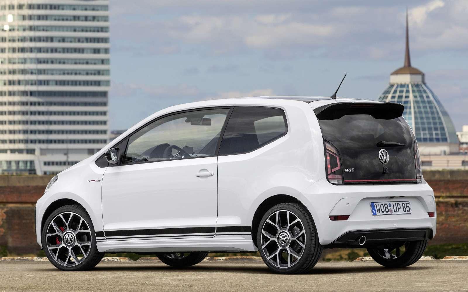 Volkswagen up! GTI: кто намаленького?— фото 753510