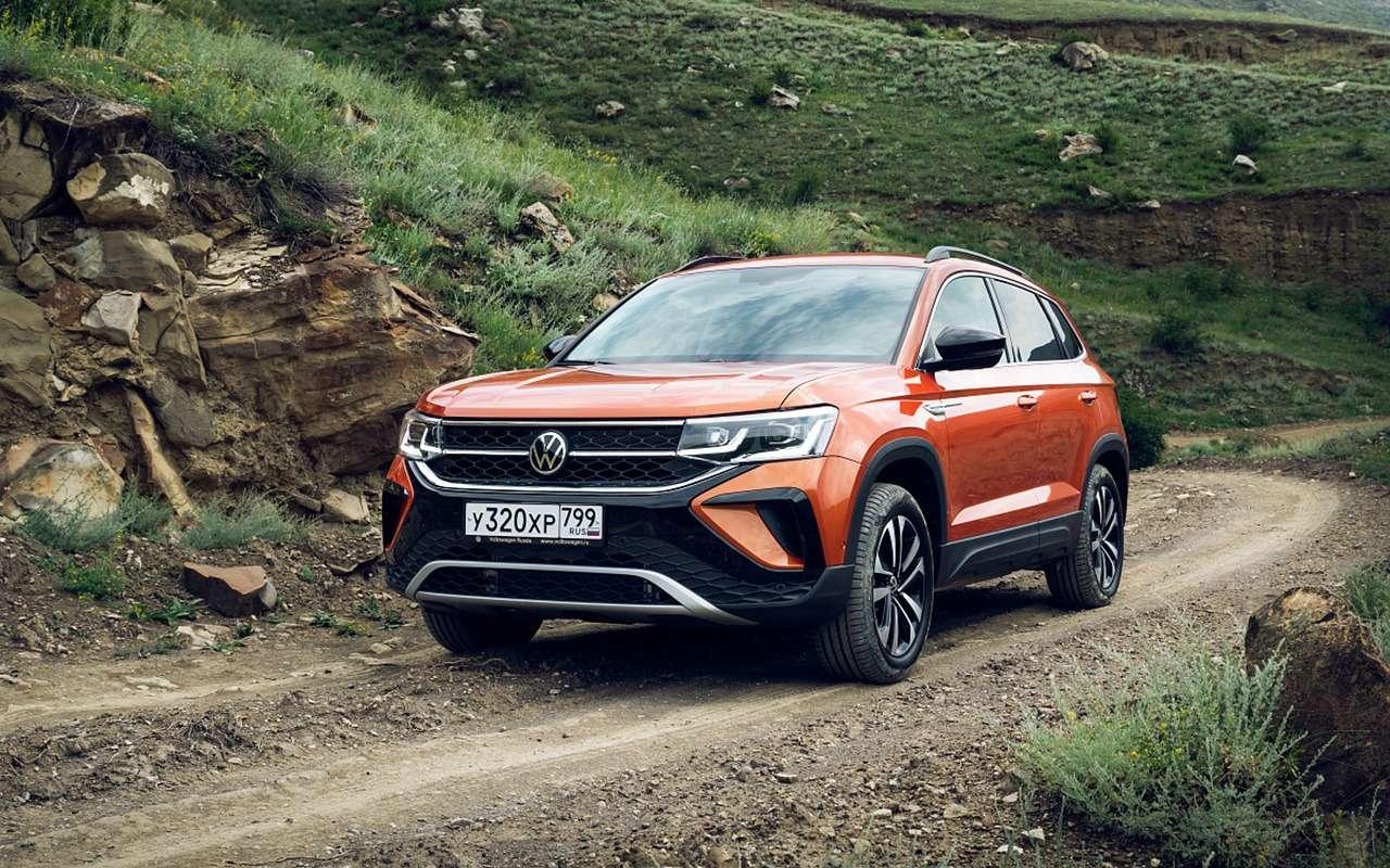 Начались продажи нового Volkswagen Taos— цены— фото 1267487