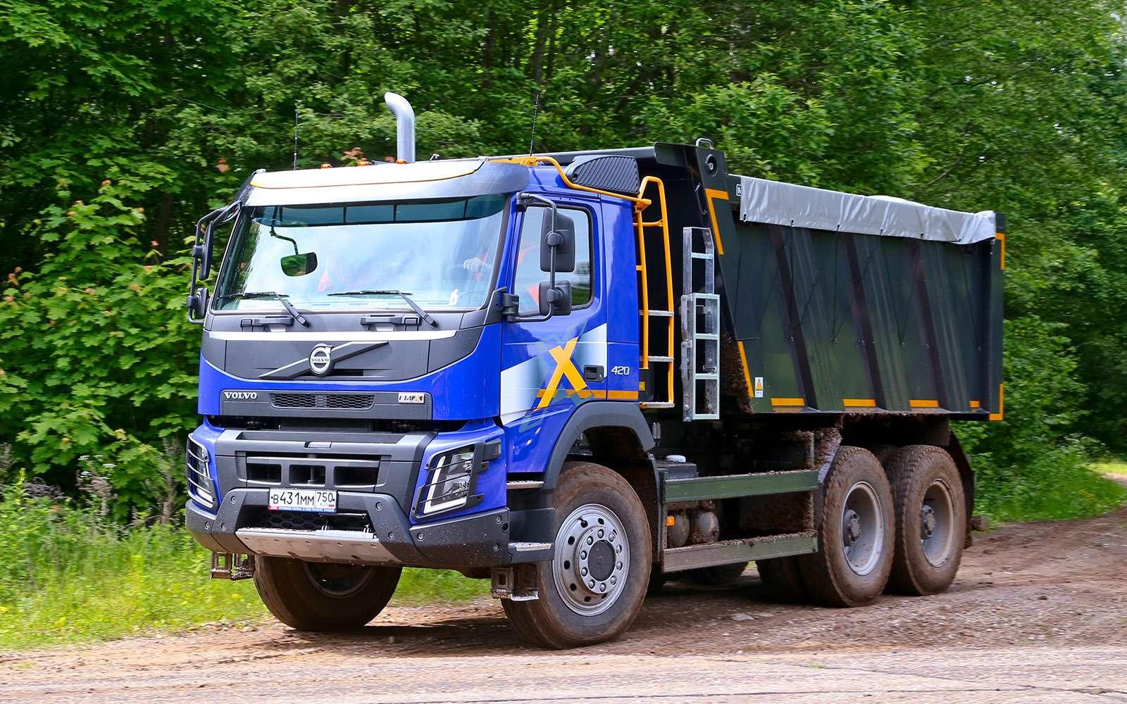 Самосвалы Volvo дляРоссии: без перегрузок наосях— фото 695652