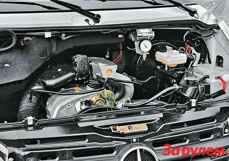 Какинамашинах прошлых лет, влинейке двигателей нового поколения есть имощный бензиновый мотор