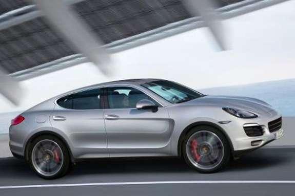 Porsche Macan rendering side-front view