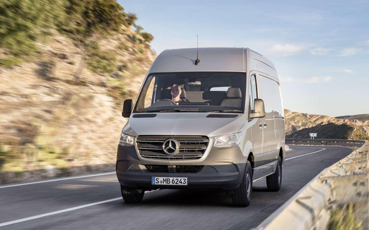 Mercedes-Benz привез вРоссию новое поколение Спринтера— фото 905685