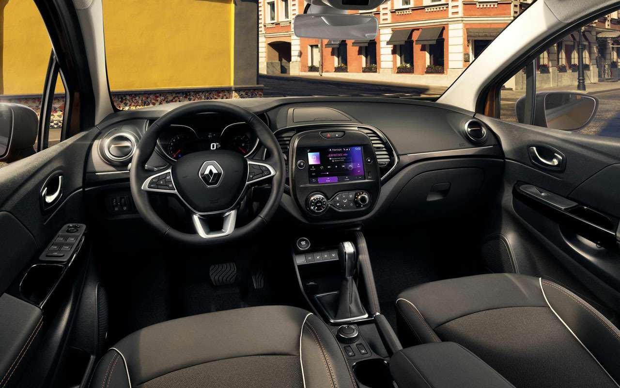 Появилась новая версия Renault Kaptur— Intense— фото 1285032