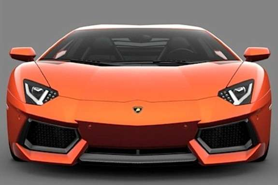 2013 Lamborghini Aventador LP700-4 front end