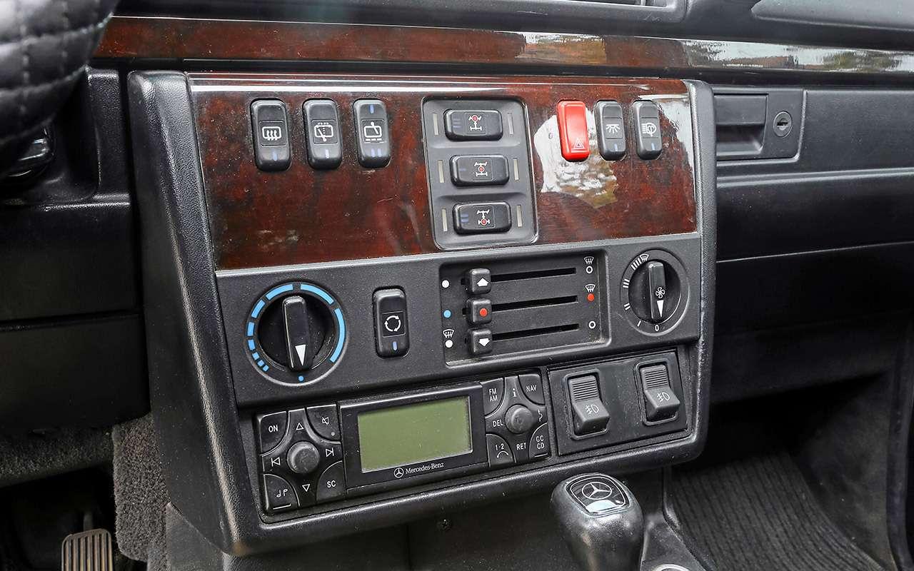 Что взять за 1 500 000 руб.: новый Дастер против 22-летнего Mercedes G300 - фото 1260689
