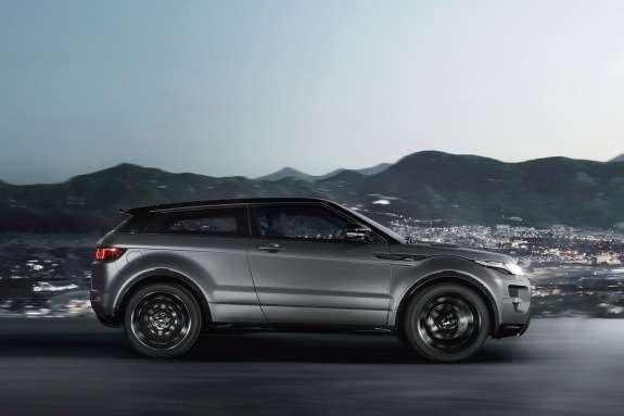 Range Rover Evoque Victoria Beckham side view