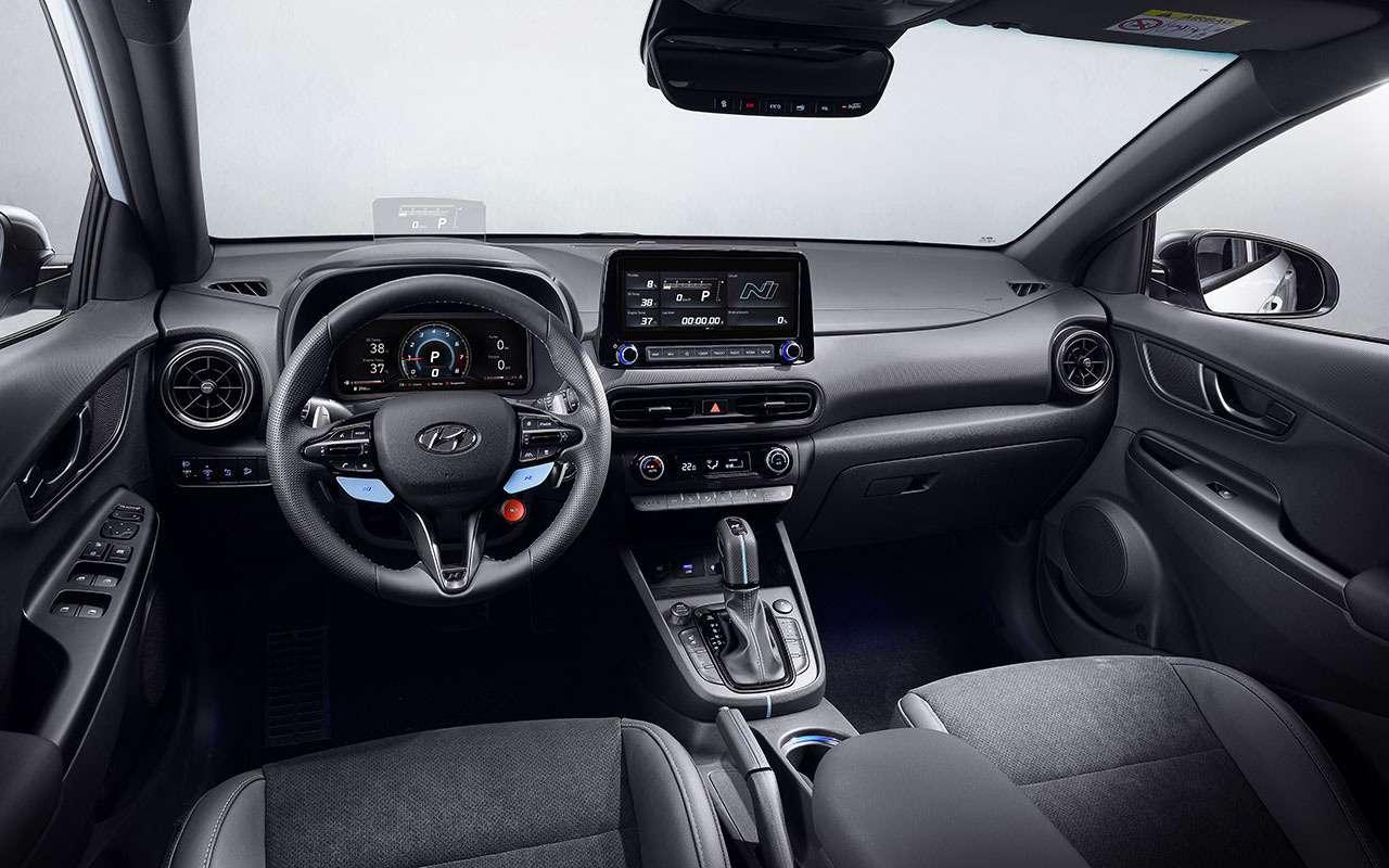 Дебют Hyundai Kona N— первого семейного спорткросса— фото 1242506
