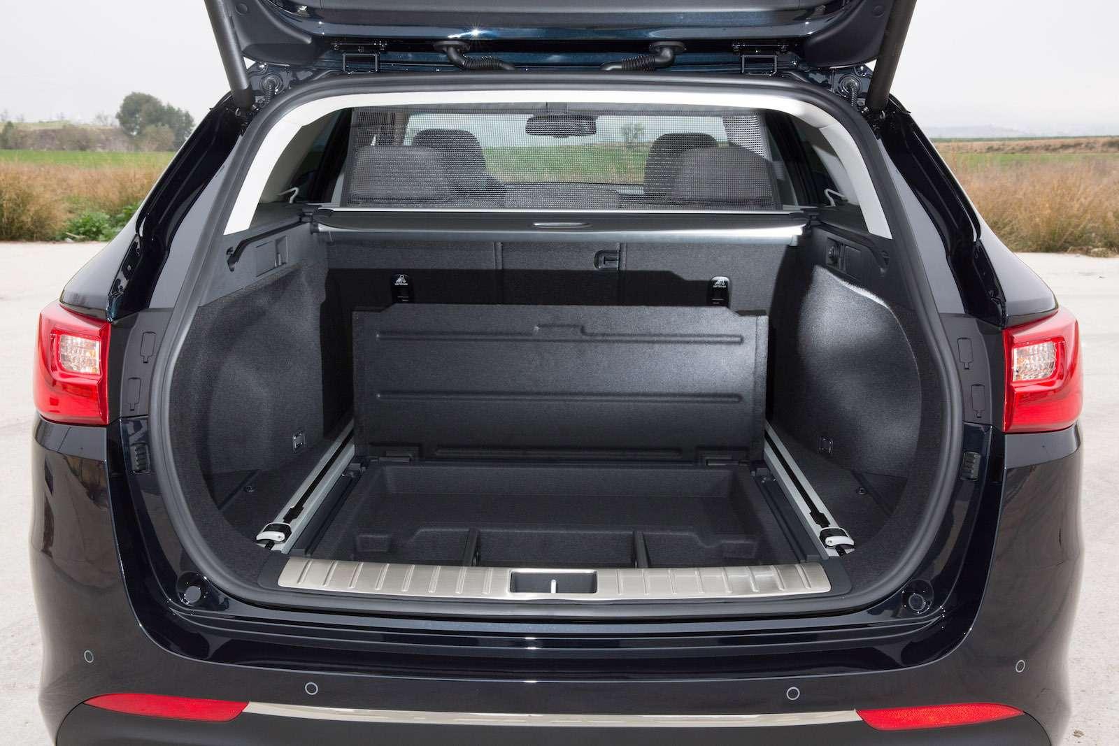 KiaOptima Sportswagon— Interior 18