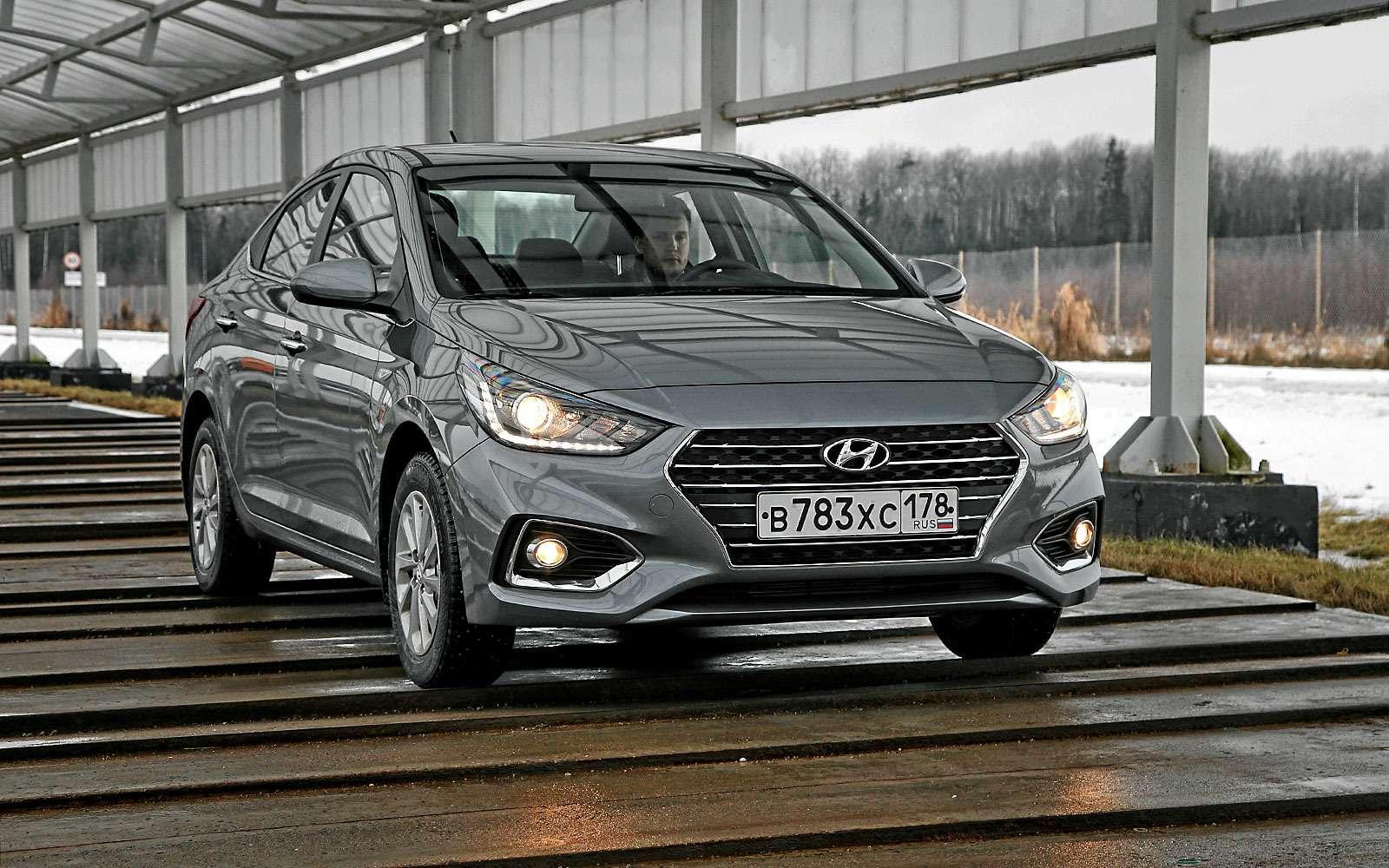 Новый Hyundai Solaris: объявлены официальные цены— фото 708474