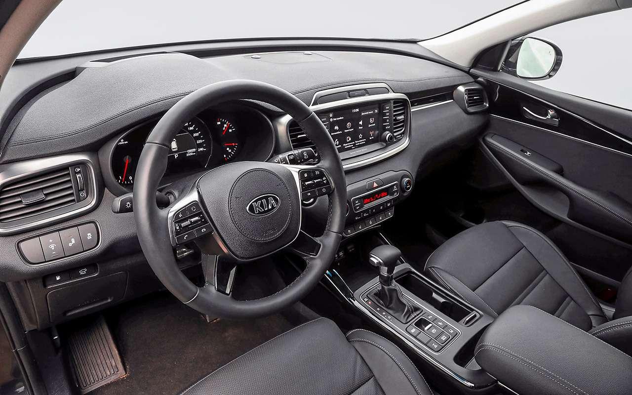 Hyundai Santa Feпротив конкурентов: большой тест кроссоверов— фото 931468