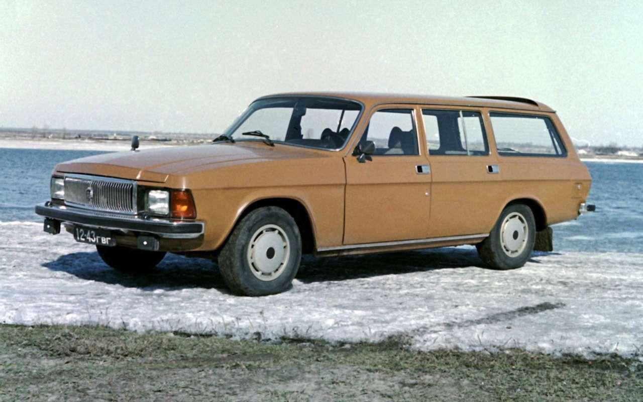 12версий ГАЗ-3102, которых выникогда не видели— фото 1007755