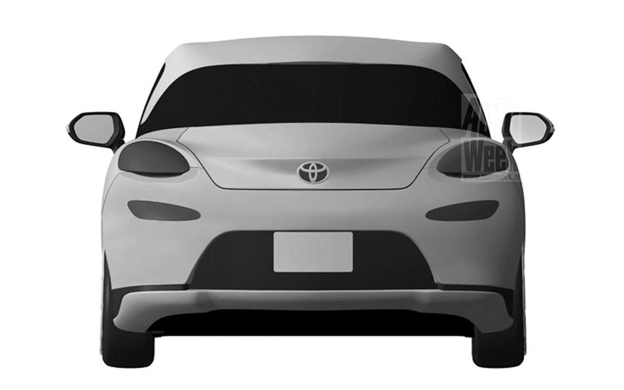 Toyota патентует новый спорткар— фото 965711