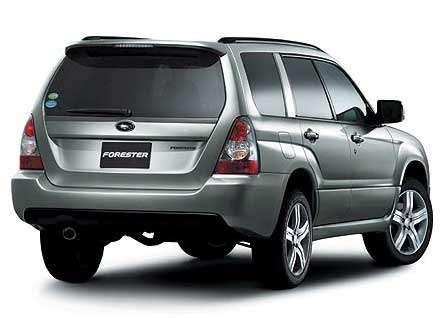 Subaru обновляет Forester— фото 103053