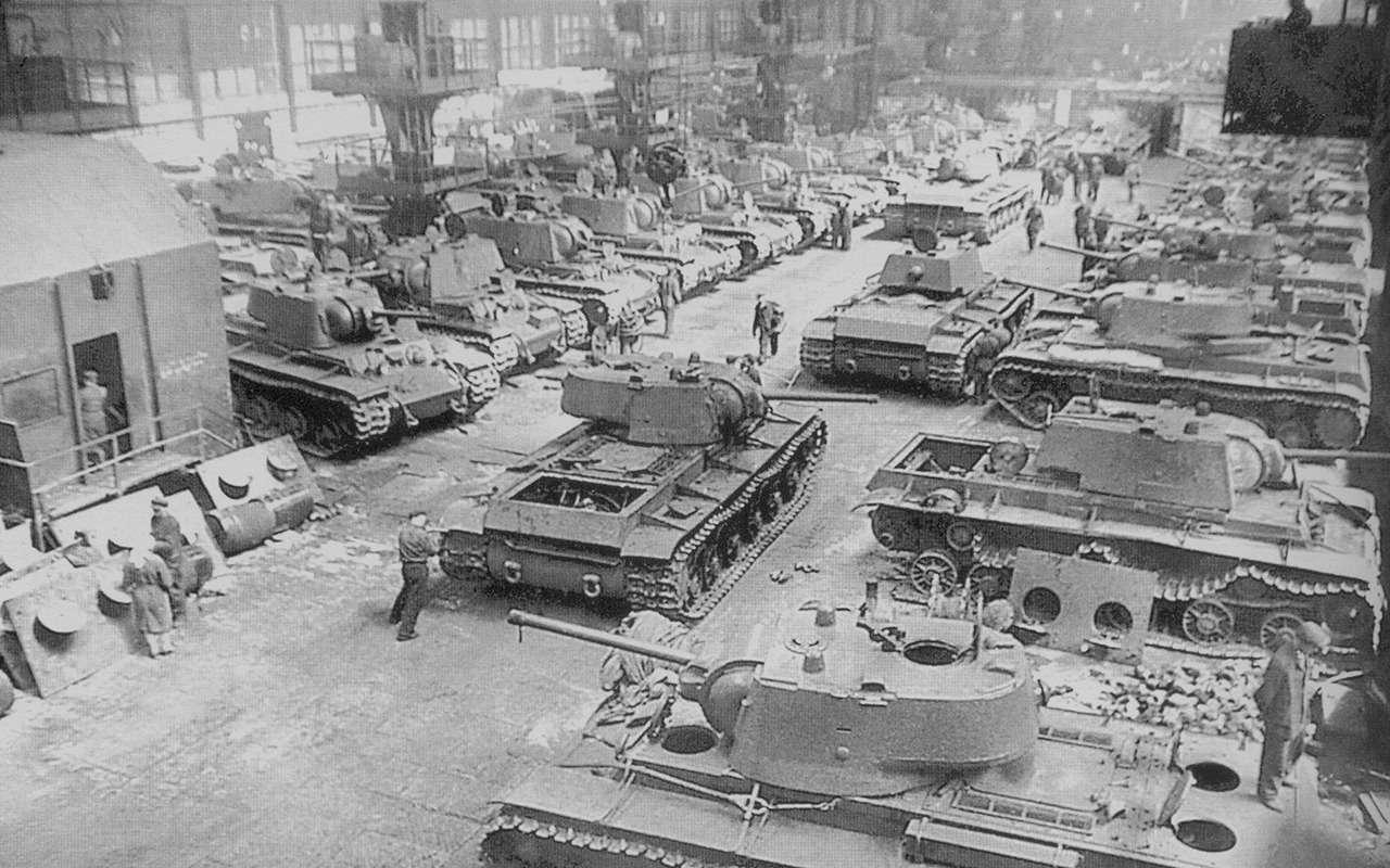 «Климент Ворошилов»— история танка, который встретил немцев— фото 1074540