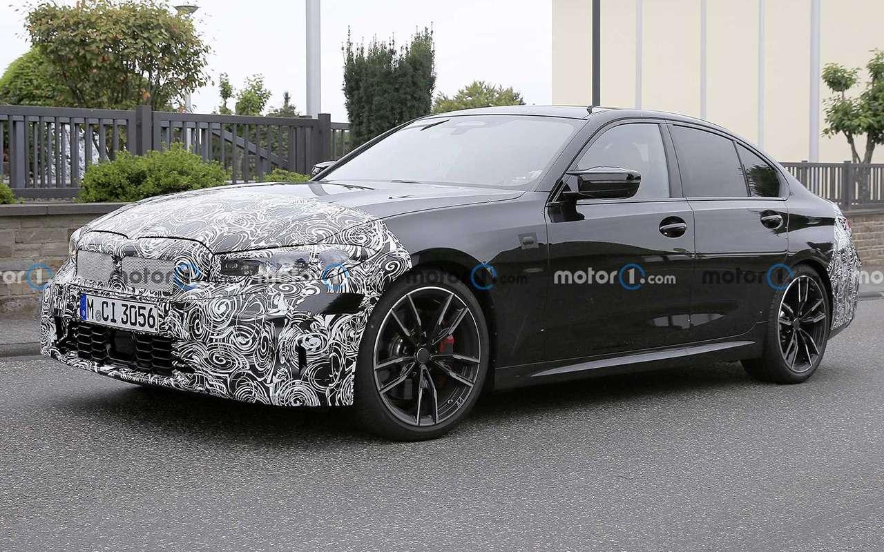 BMWтестирует обновленный седан 3-й серии— фото 1278206