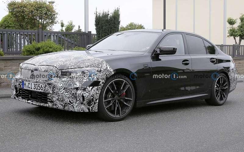BMWтестирует обновленный седан 3-й серии