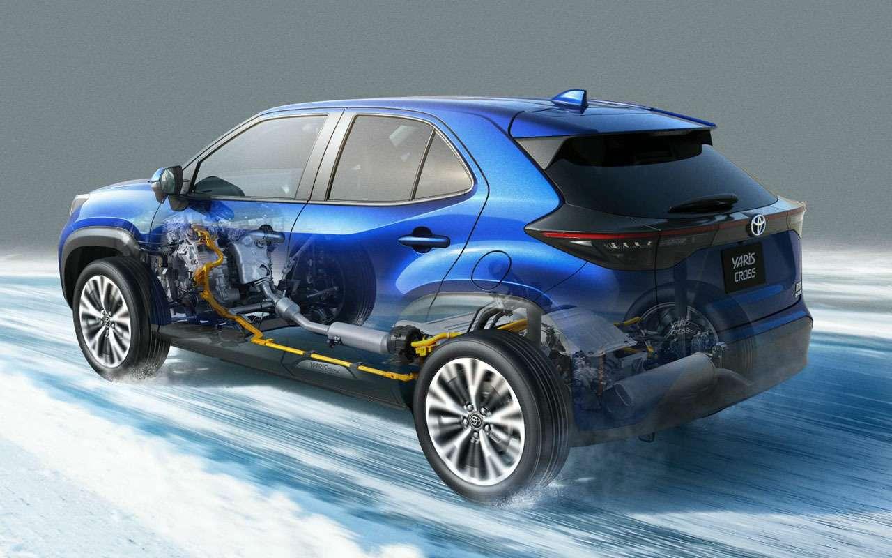 Начались продажи Toyota Yaris Cross - от 1,27 млн - фото 1163706