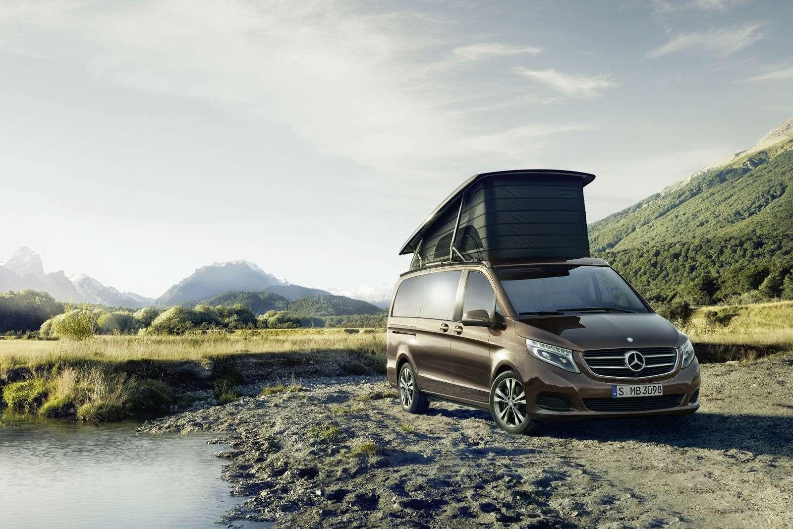 Mercedes-Benz предложил покупателям вРоссии микроавтобус дляпутешествий— фото 368338