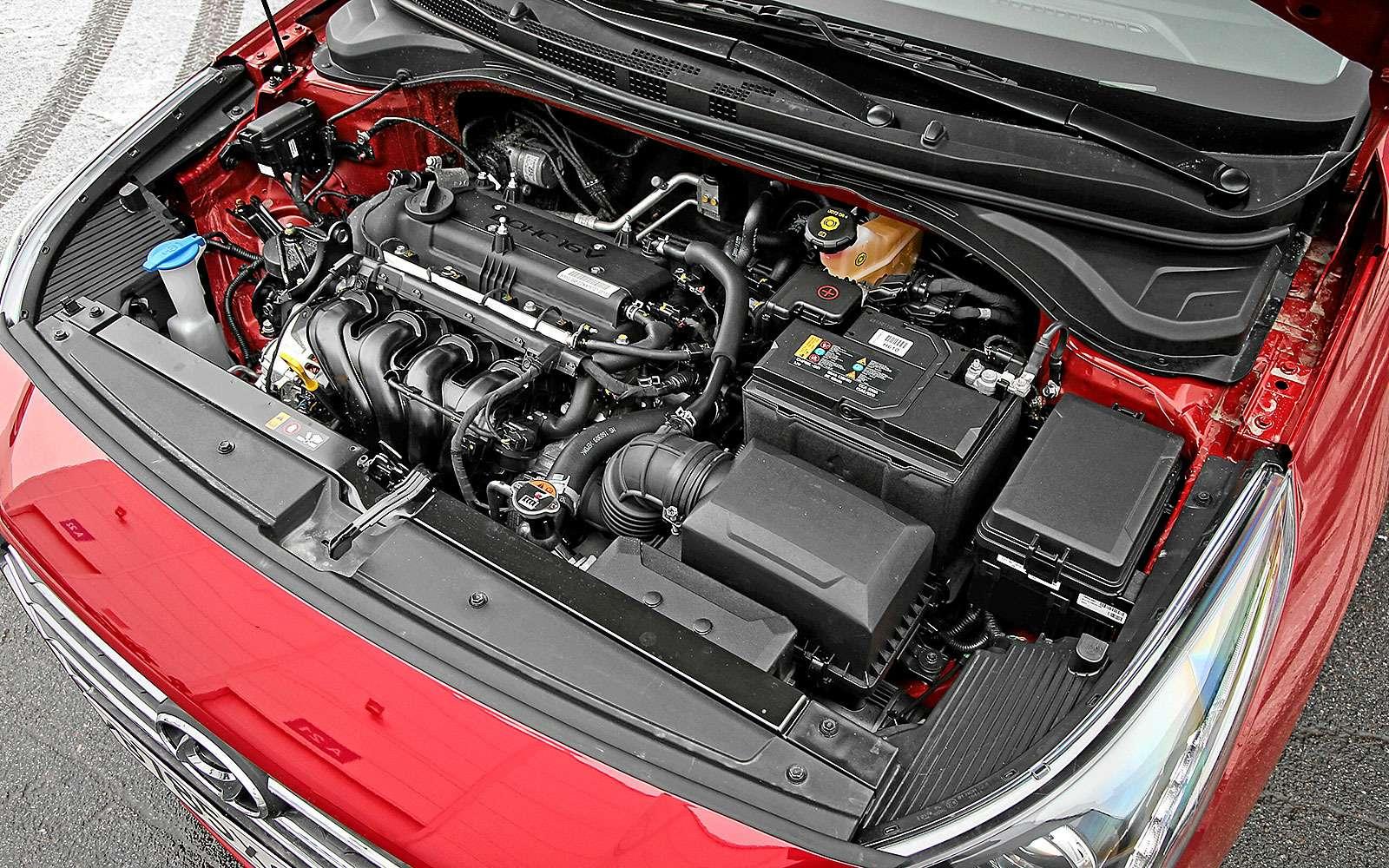 Двигатель Hyundai Solaris 2