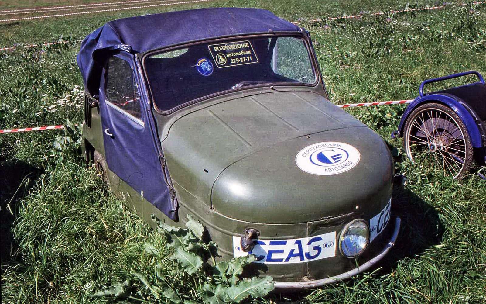 Самые необычные советские автомобили. Топ-12— фото 631388