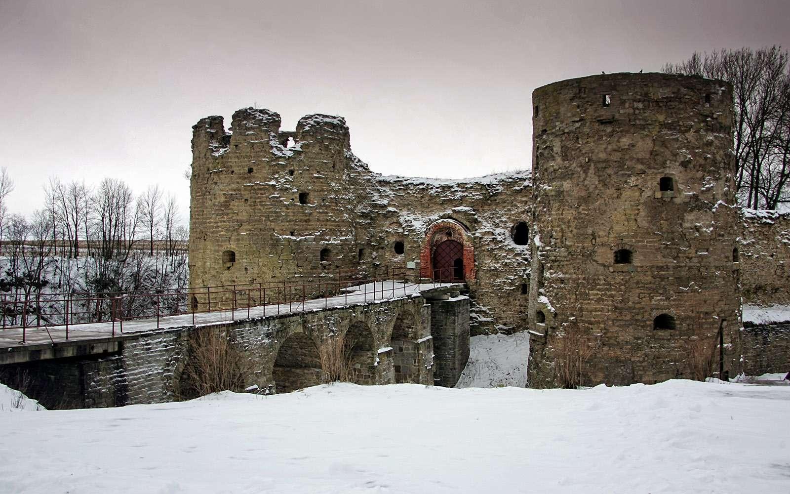 крепость вКопорье