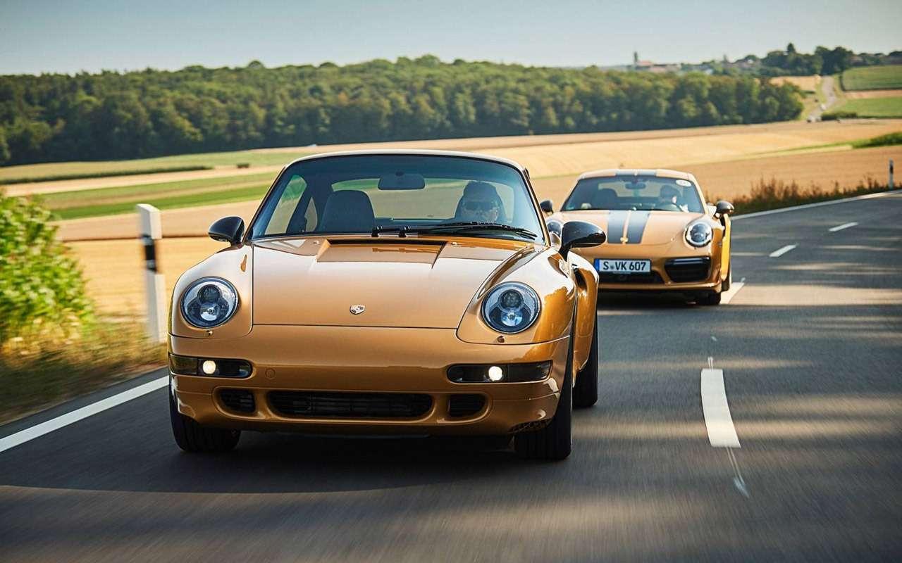 Уникальный Porsche 911 Project Gold: его продали нааукционе за10минут!— фото 918877