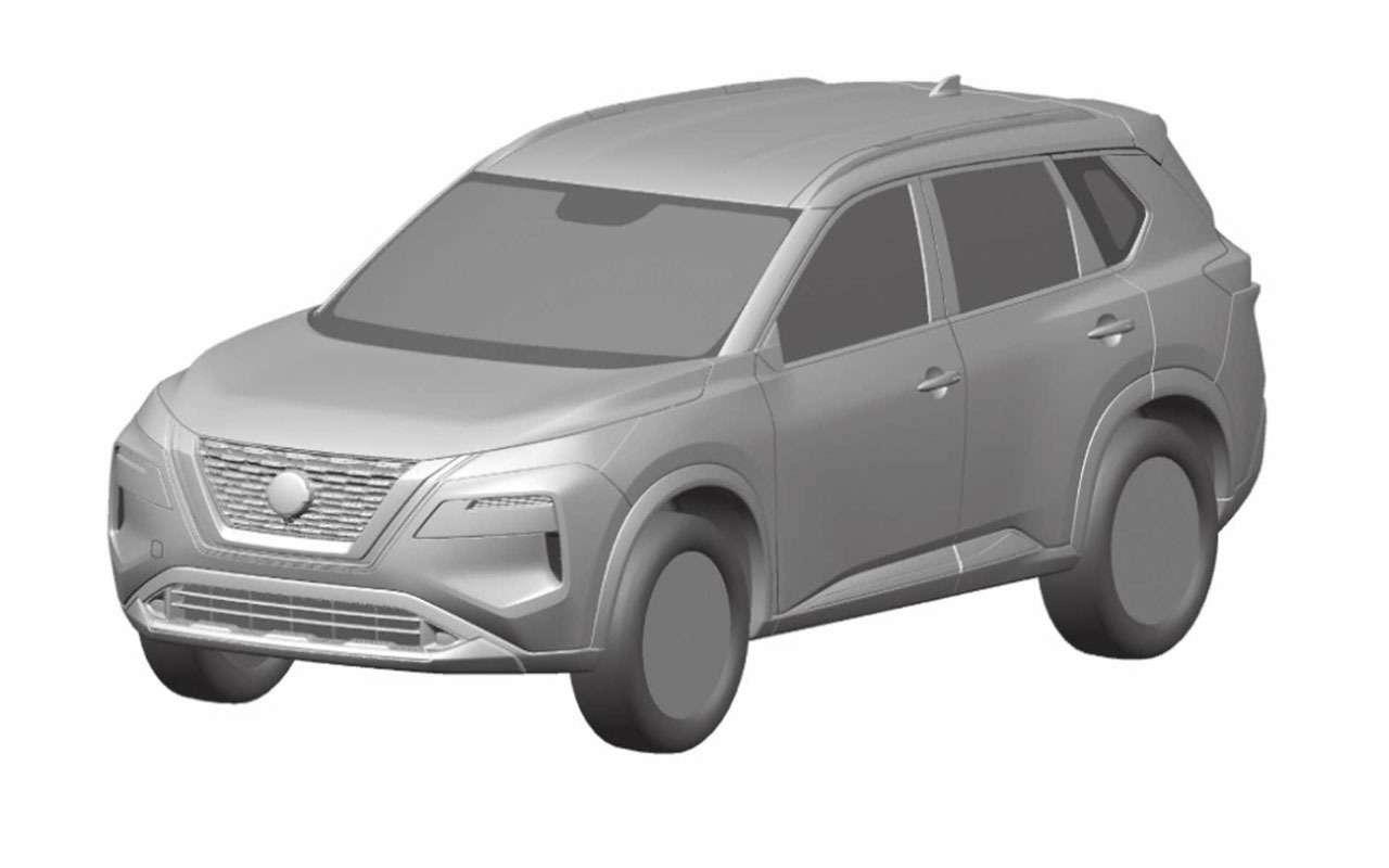 Nissan запатентовал изображения нового X-Trail— фото 1112994