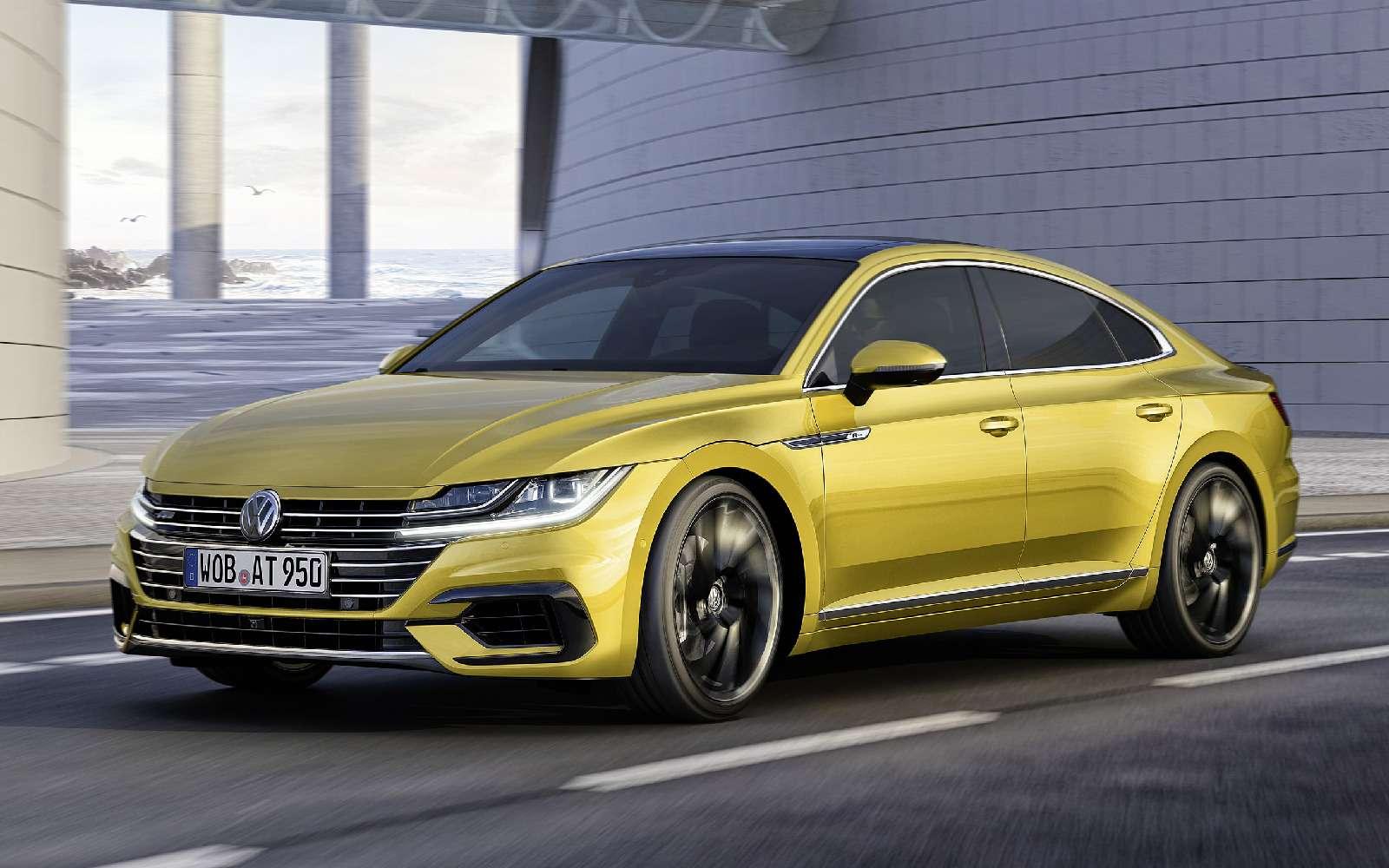 Volkswagen Arteon: это вам неЦе-Це!— фото 717138