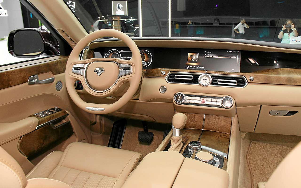 Aurus Senat: заглядываем внутрь самого крутого российского автомобиля— фото 906741