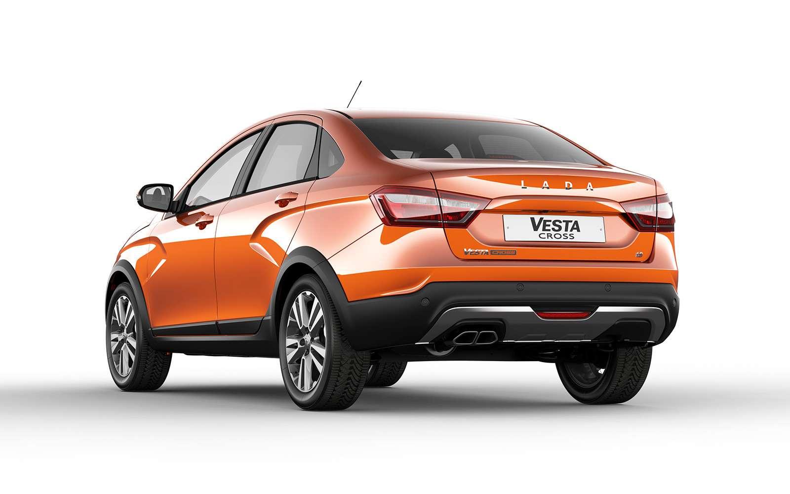 Представлена новая модель Lada. Иэто снова Cross— фото 863328