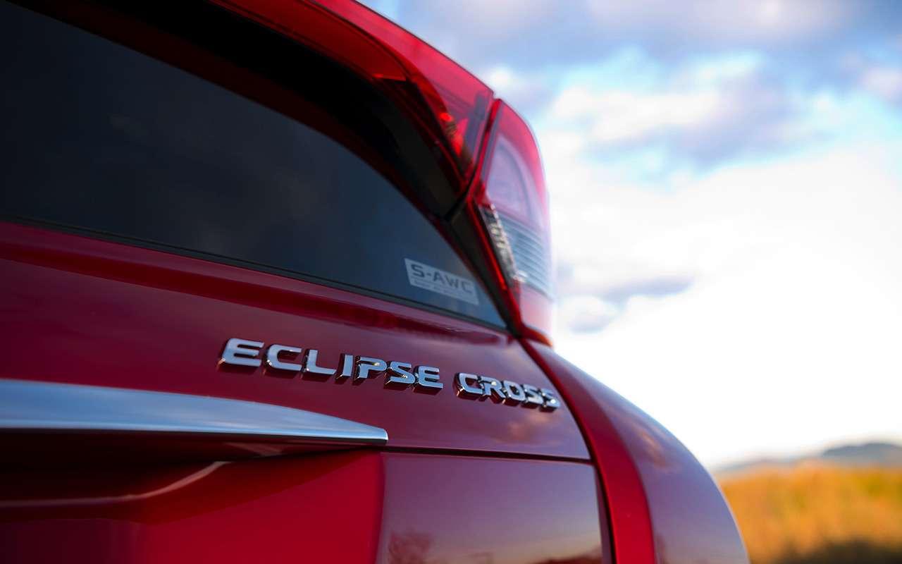 Какустроен кроссовер: все секреты Mitsubishi Eclipse Cross— фото 927366