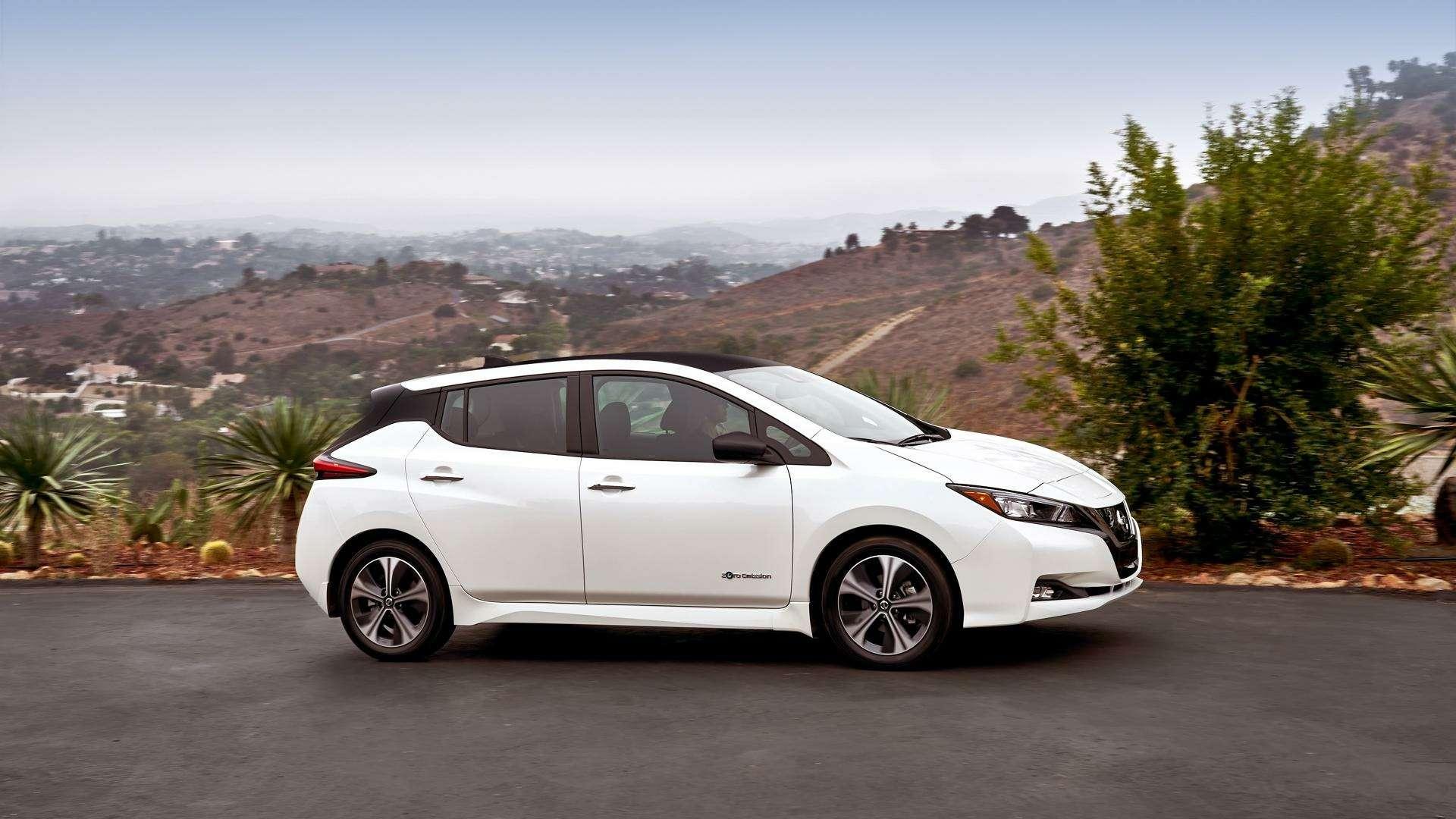 Nissan представил электромобиль дляРоссии— фото 791441