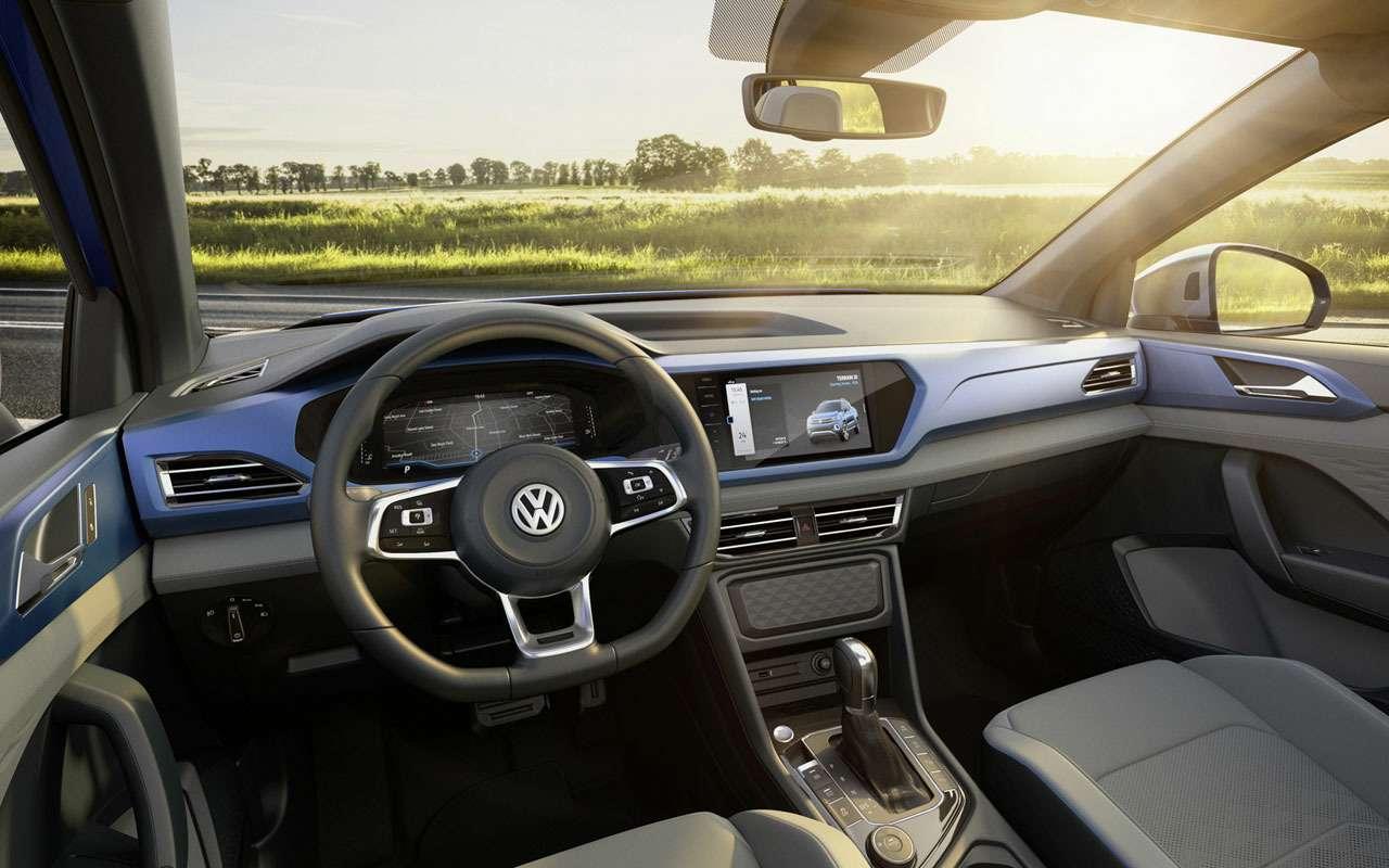 Volkswagen запатентовал новую модель набазе Тигуана— фото 1059760