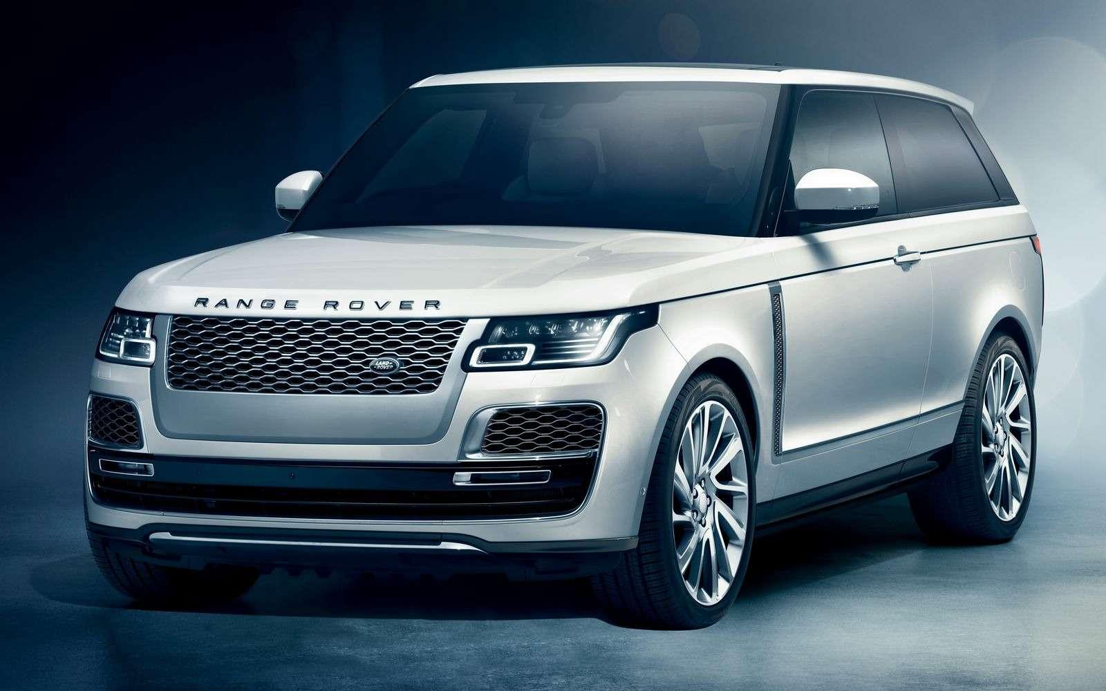 Range Rover SVCoupe: трехдверный, нонеукороченный!— фото 851198