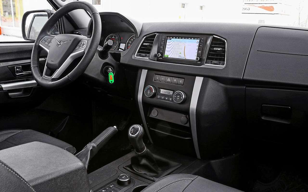 УАЗПатриот 2019— первый тест-драйв серийной машины— фото 942532