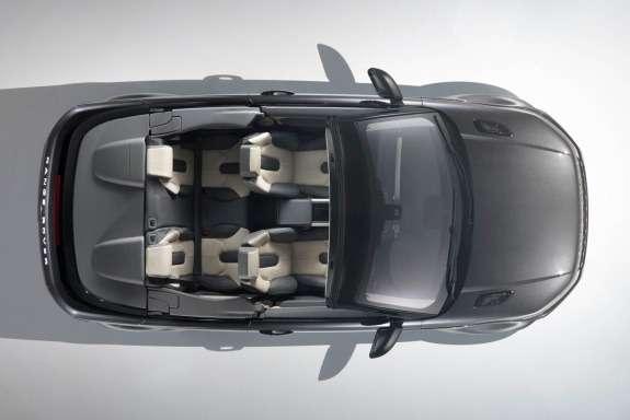 Land Rover Range Rover Evoque Convertible Concept top view