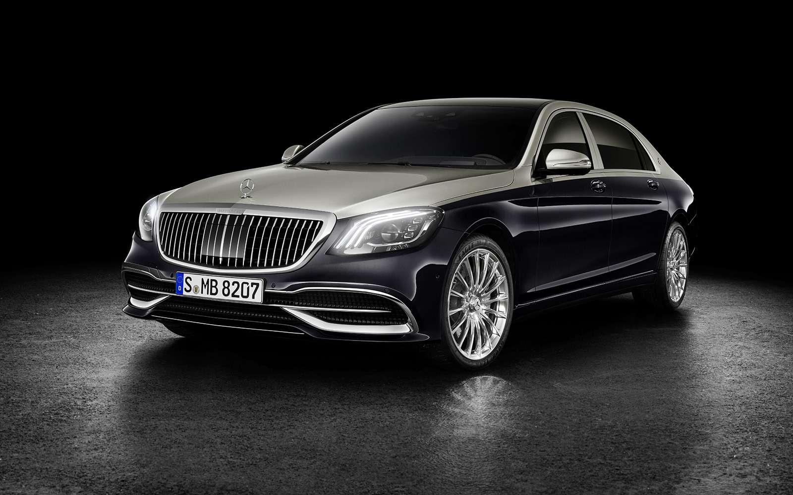 Нарадость олигархам: рассекречен обновленный Mercedes-Maybach S-класса— фото 844551