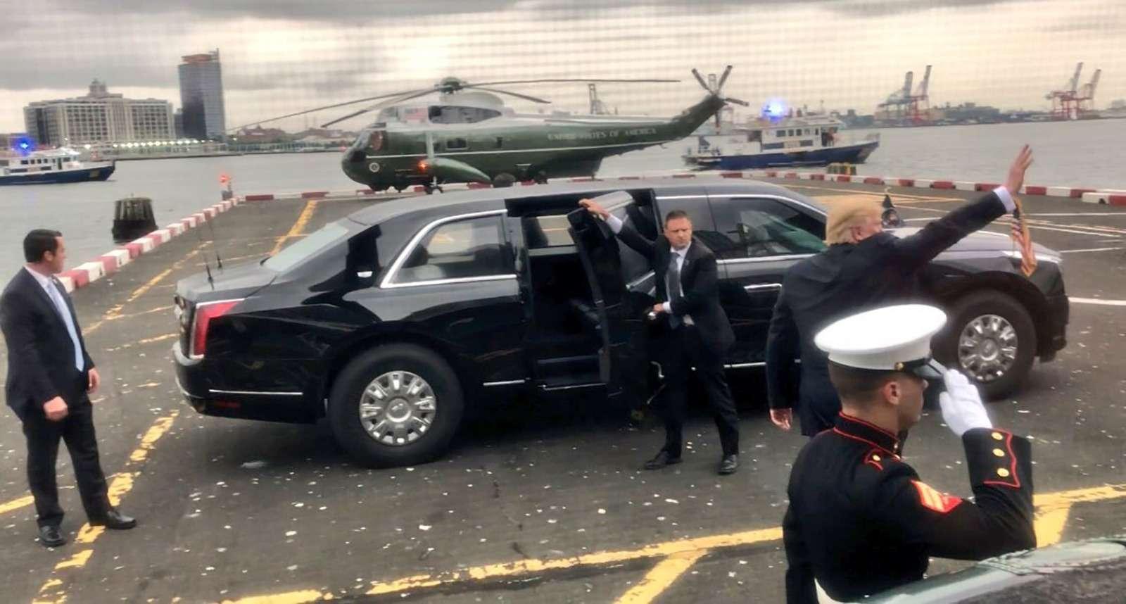 5 фактов оновом лимузине Дональда Трампа. Круче лионАуруса Путина?— фото 907877
