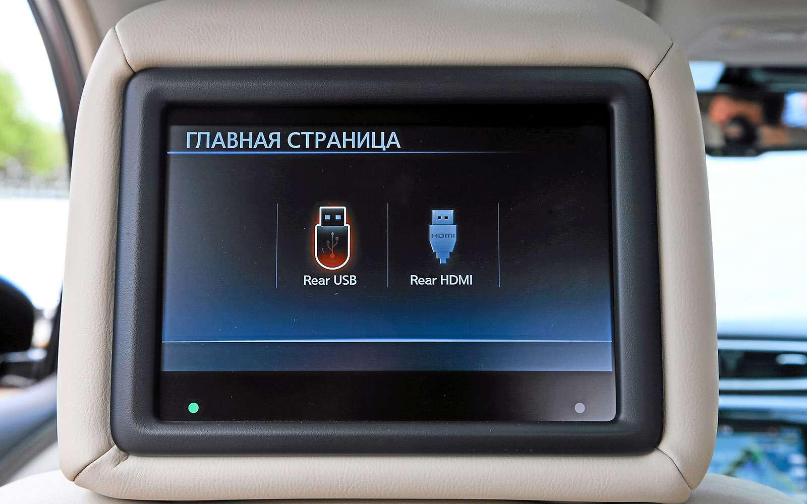 Новый Nissan Murano против конкурентов: длинные рубли— фото 691683