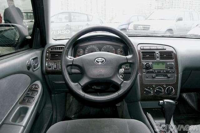 Toyota Avensis вдеталях. Европейское воспитание— фото 61331