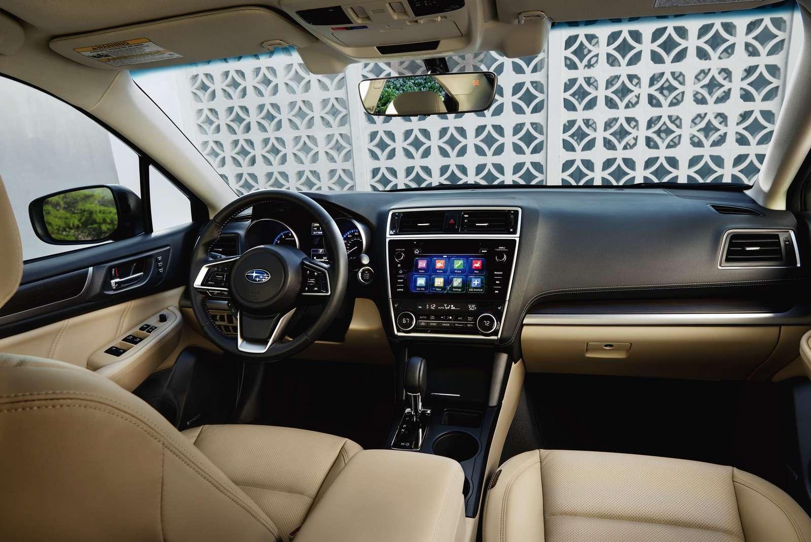 Наследие Америки: Subaru обновила седан Legacy— фото 702295
