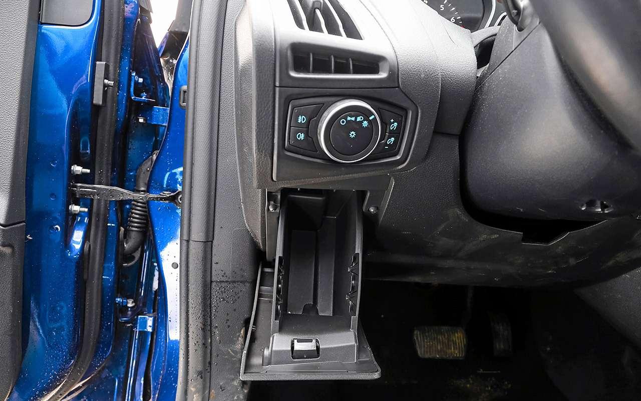 Большой тест универсалов: Ford против Kia— фото 959188