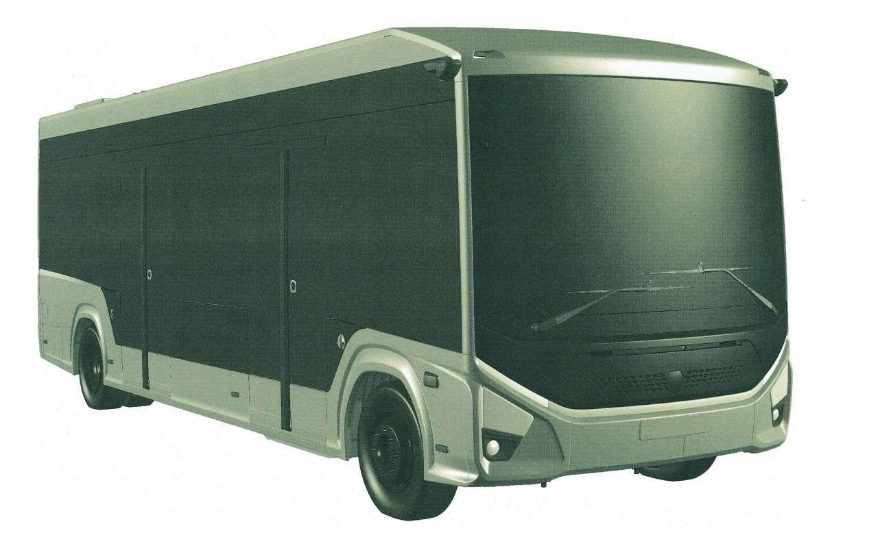 ГАЗзапатентовал городской электробус e-CityMAX-9— фото 1280186