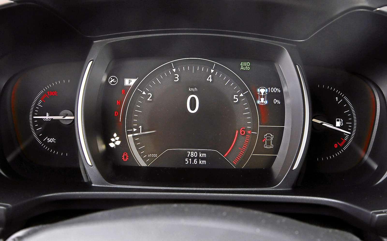 Новый Renault Koleos против конкурентов: буржуа, лесник иленивец— фото 780161