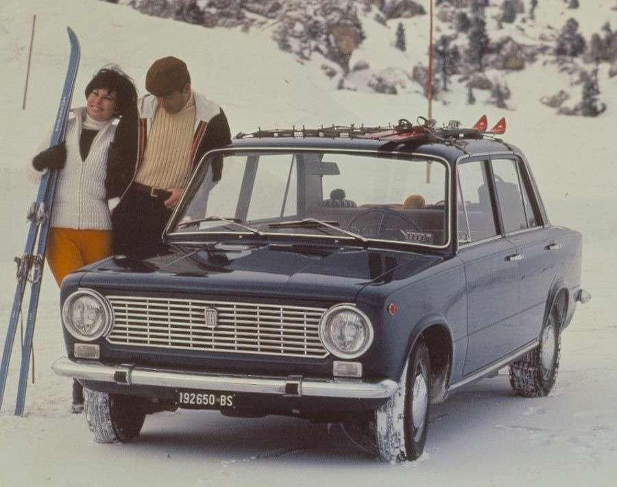 Дебютант Женевы-66 Fiat-124был признае европейским «Автомобилем 1967 года».