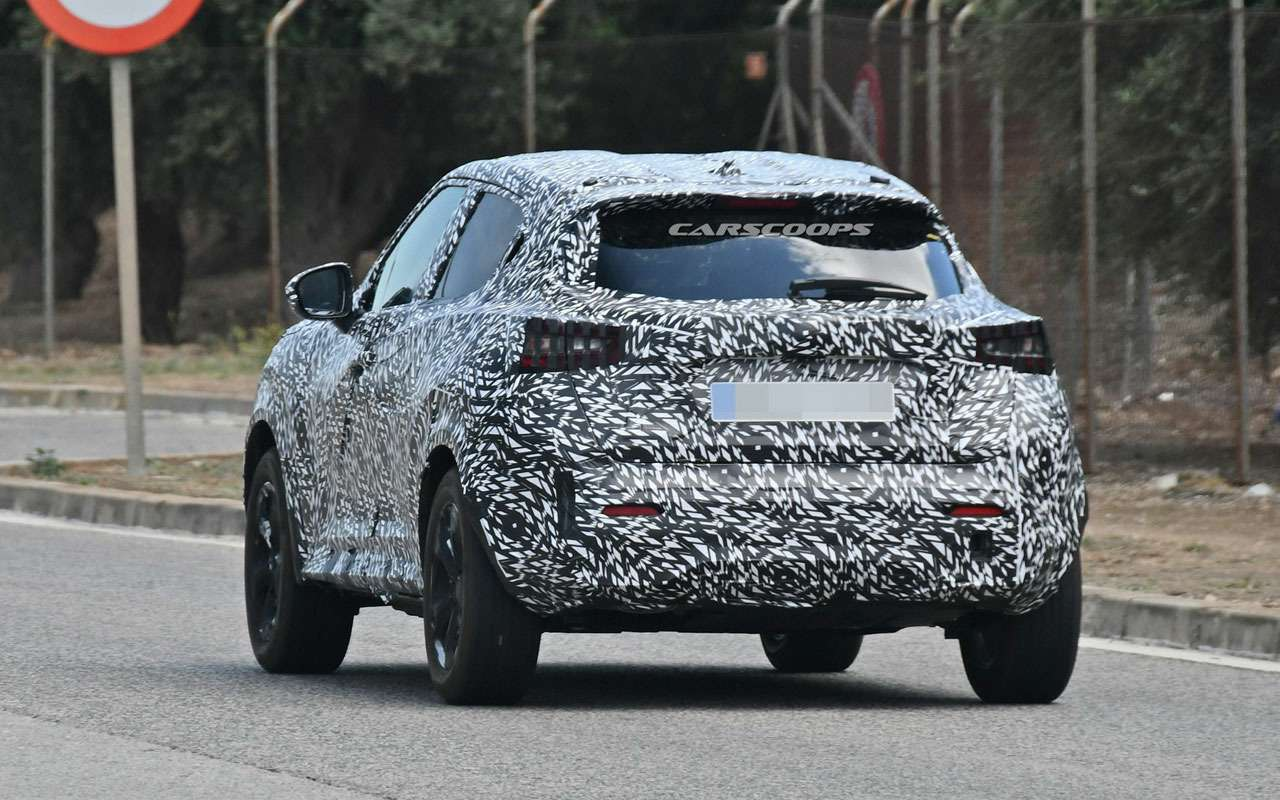 Новый Nissan Juke станет просторнее— фото 980128