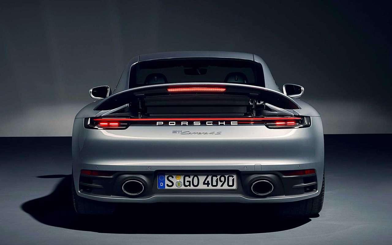 Новый Porsche 911: классический облик исовременная начинка— фото 926957