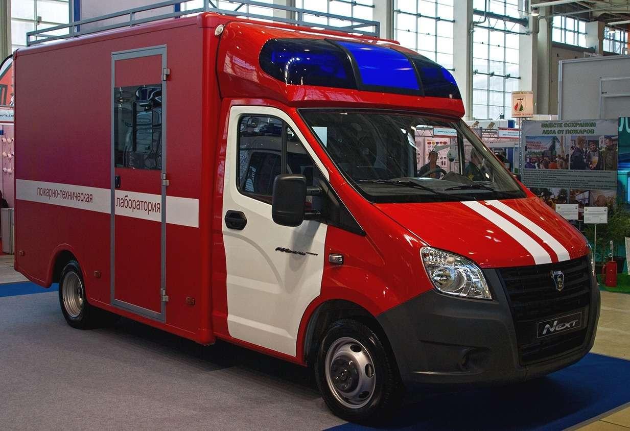 Пожарно-техническая лаборатория ГАЗель-NEXT